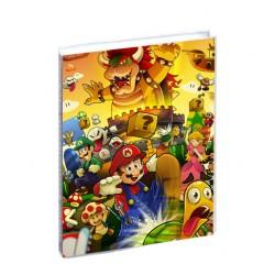 Agenda Mario Fan scolaire 12x17cm - 1 jour par page idéal collège / lycée