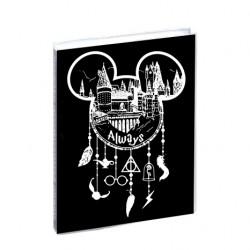 Agenda Harry Potter Always Mickey Mouse dream catcher scolaire 12x17cm - 1 jour par page idéal collège / lycée