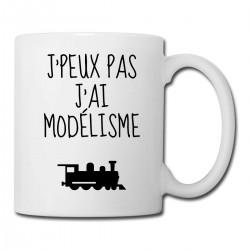 Mug Je Peux Pas J'ai Modélisme  - Tasse en céramique café