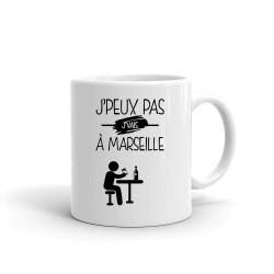Mug je Peux Pas je Vais à Marseille  - Tasse en céramique café