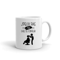 je Peux je Peux Pas je Vais chez Le Coiffeur  - Tasse en céramique café