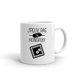 Mug je Peux Pas j'ai Monopoly - Tasse en céramique café