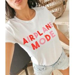 T-Shirt airplane mode - Femme Cadeau