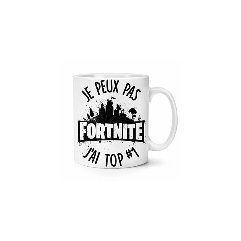 Mug Je peux pas j'ai Fortnite TOp 1