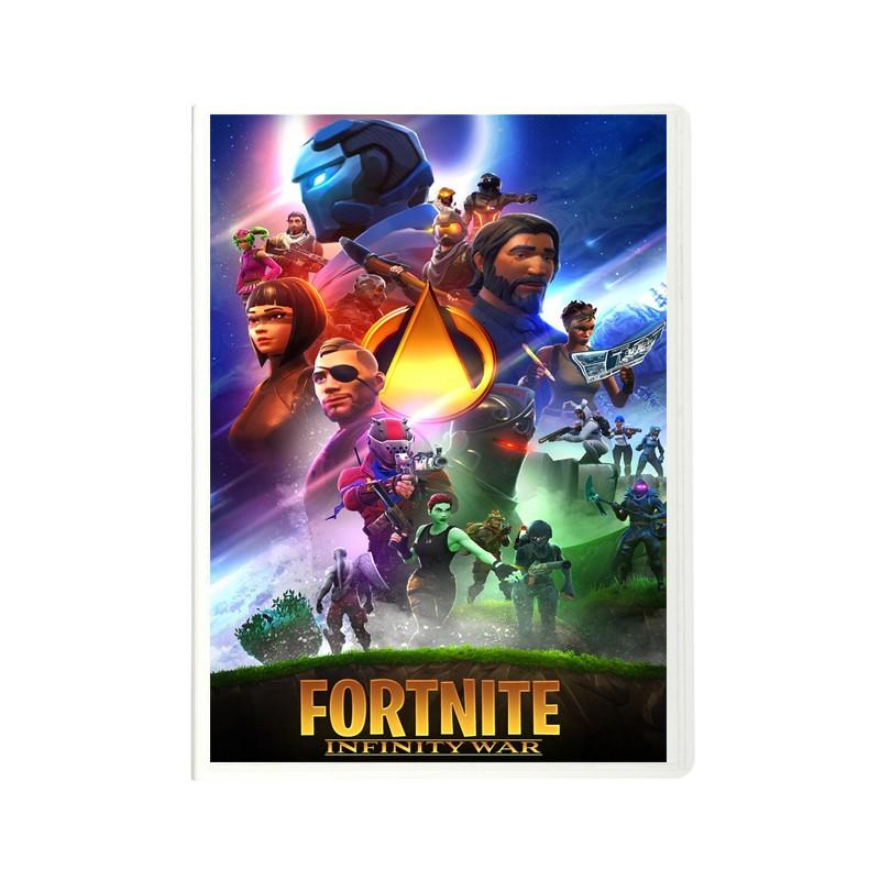 Protège document Fortnite x Avengers A4 - 60 vues
