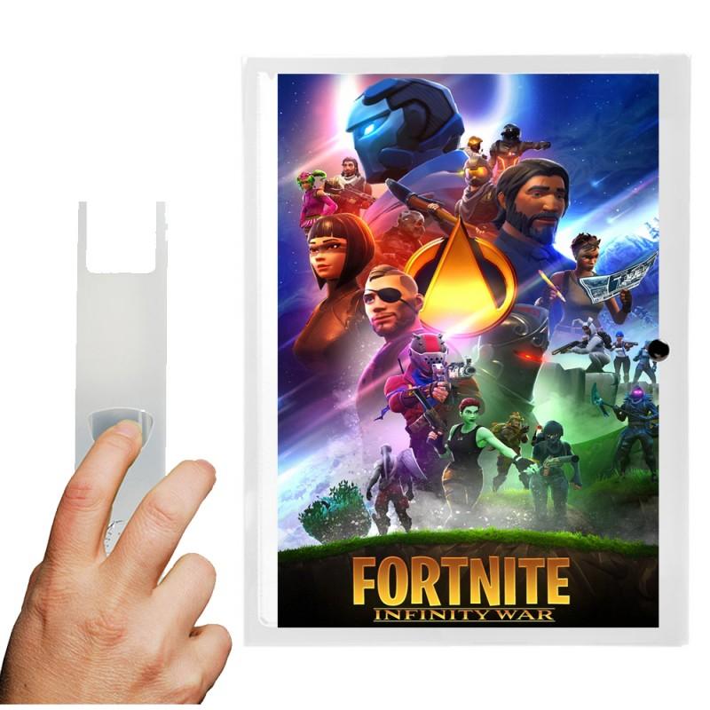 Boîte de classement Fortnite x Avengers POLYPRO A4 DOS 4CM