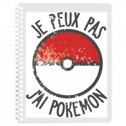 Cahier de texte j'peux pas j'ai pokemon