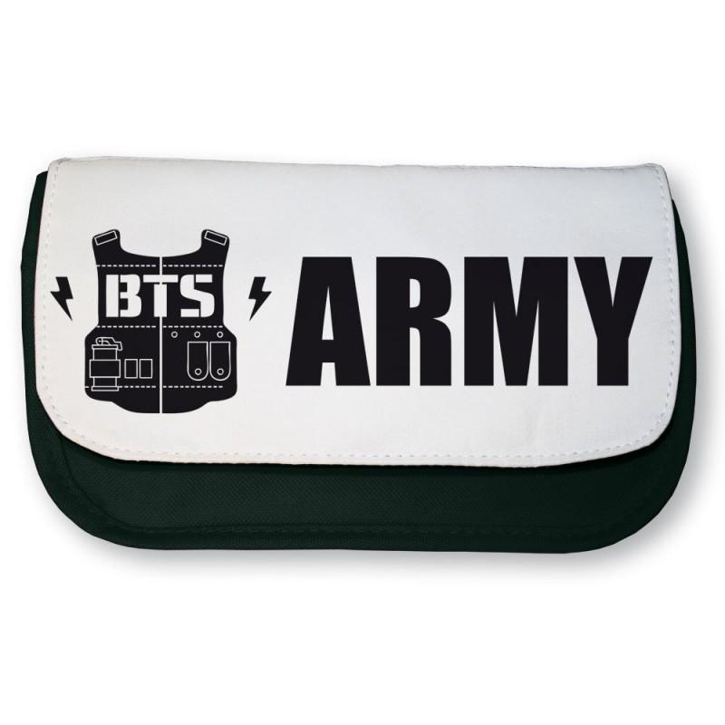 Trousse noire K-pop BTS ARMY
