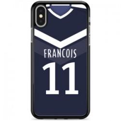 Coque Bordeaux - Nom et Numéro Personnalisable pour votre téléphone portable