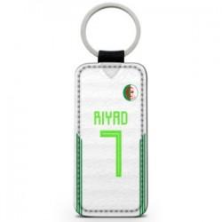 Porte clef algérie personnalisable avec nom et numéro
