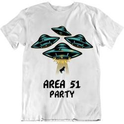 T-Shirt Area 51 Party - Cadeau homme Alien