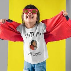 T-shirt Je peux pas j'ai Joyce Jonathan - Cadeau enfant