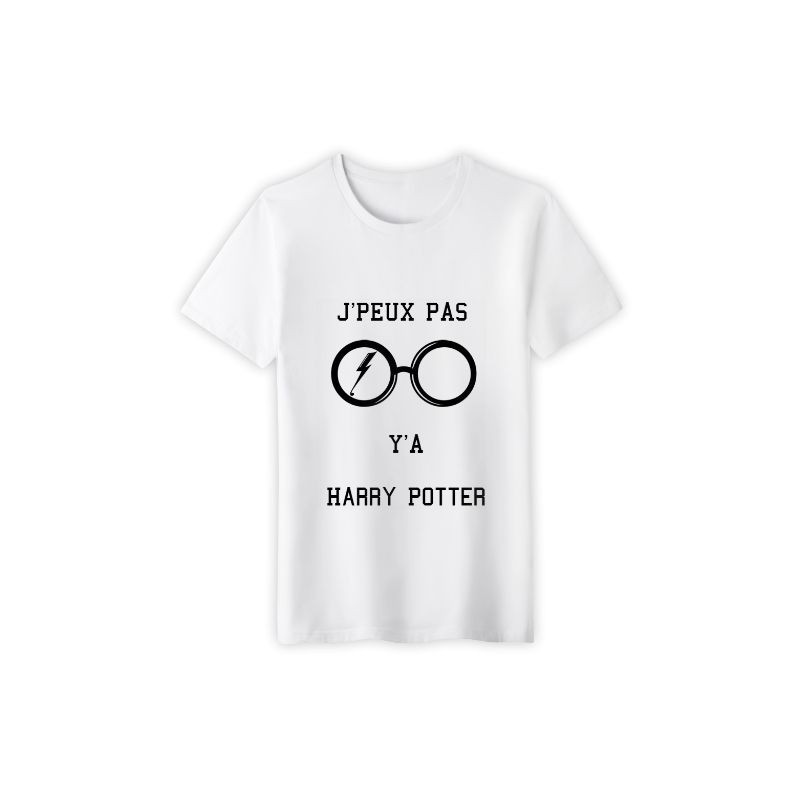 T-shirt j'peux pas j'ai potter le sorcier  - cadeau homme