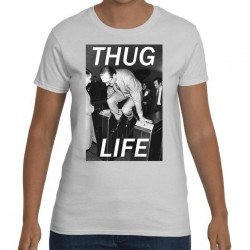 T-shirt Jacques Chirac Fraude métro thug life - Homme