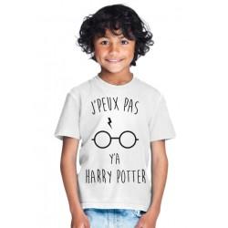 T-shirt Je peux pas ya harry potter - Cadeau enfant
