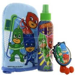 PJMASKS - Coffret enfant Eau de toilette Porte brosse à dents et gant de toilette
