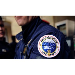 écusson GIGN Gendarmerie Nationale thermocollant