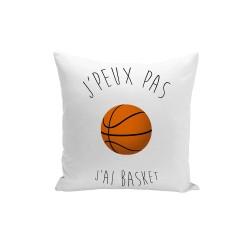 Coussin J'peux pas j'ai Basket