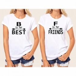 T-Shirt assorti Meilleure Amie - Best Friends drôle