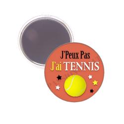 Magnet je peux pas j'ai tennis