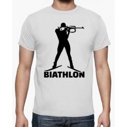 T-shirt biathlon - cadeau homme