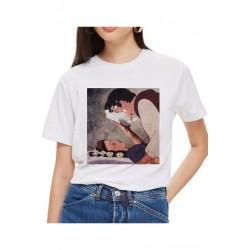 T-Shirt Blanche neige Tarte le prince - Femme