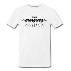 T-shirt Team Merguez - cadeau homme viande