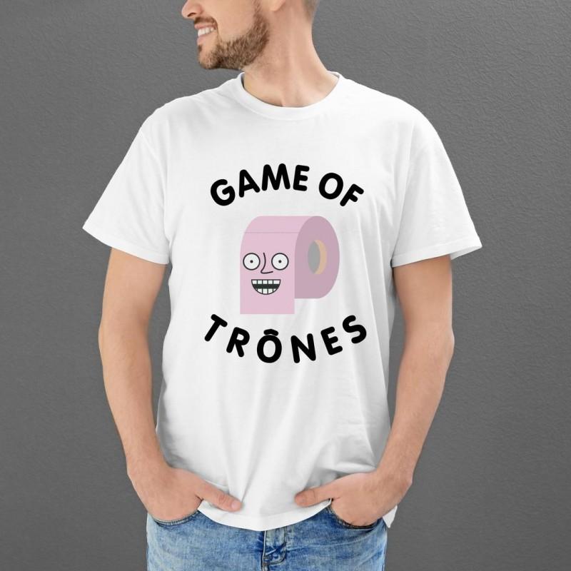 T Shirt Game Of Thrones Cadeau Homme Drole Roi Des Toilettes Toutes Les Tailles S