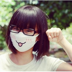 Masque Cosplay Kawai petit chien ou chat alternatif - Protection du visage