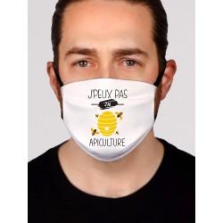 Masque en tissu je peux pas j'ai apiculture - Protection du visage masque barrière