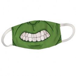Masque monstre vert inspiration Hulk - Masque réutilisable et lavable