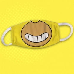 Masque cartoon inspiration Homer - Masque anti postillon / pollution