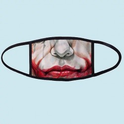 Masque alternatif Joker Sourire - Masque en tissu réutilisable et lavable