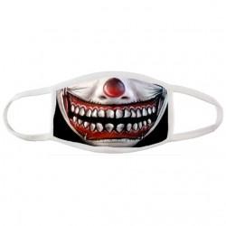 Masque alternatif Clown ça- Masque en tissu réutilisable et lavable