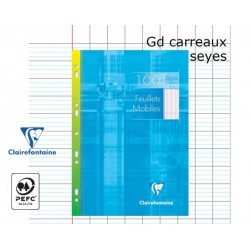 100 PAGES MOBILES A4 CLAIREFONTAINE