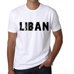 T-Shirt Liban Tag - Collection Pays Lebanon