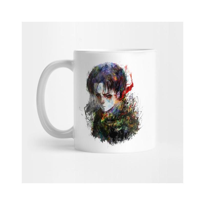 Mug Levi Aquarelle - Tasse cadeau titan