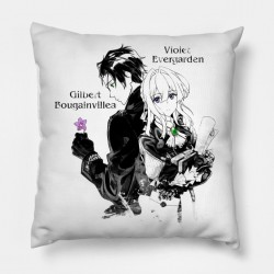 Coussin Together violet evergarden - Housse + taie d'oreiller