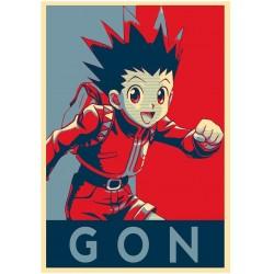 Affiche Gon  - Poster Hunter x hunter propaganda