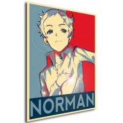 Affiche Norman  - Poster Yakusoku no Neverland (The Promised Neverland) propaganda