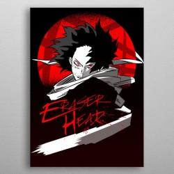 Affiche Eraser Head poster My hero academia