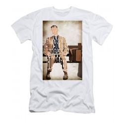 T-Shirt Forrest Gump - Tom Hanks - homme et enfant