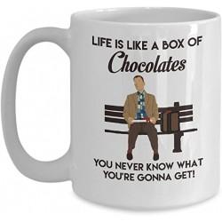 Mug Forrest Gump Mug Life is like a box of Chocolates - Tasse cadeau