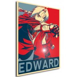 Affiche Full metal aclchemist - Edward propaganda