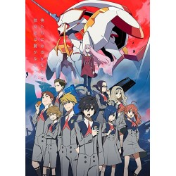 Affiche Darling in the franxx -  Poster avec cadre tableau