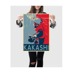 Affiche Kakashi propaganda - Poster avec cadre tableau manga