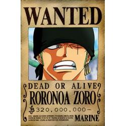 Affiche Zoro - Poster avec cadre tableau one piece