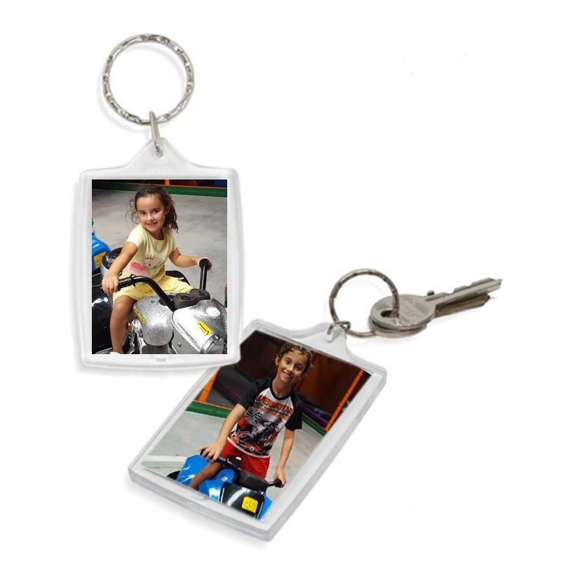 Porte-clés photo personnalisé