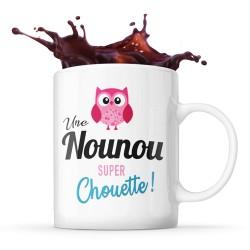 Mug nounou Super Chouette - Tasse