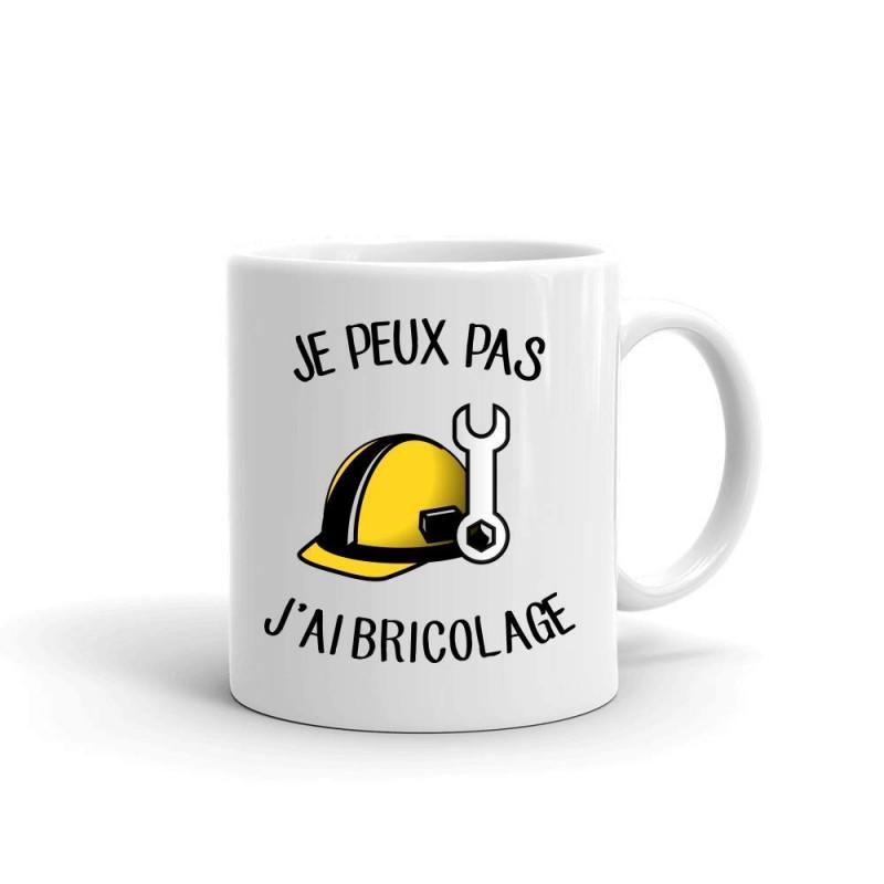 Mug / Tasse je peux pas j'ai bricolage